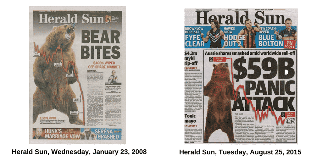 Herald Sun, Wednesday, January 23, 2008
